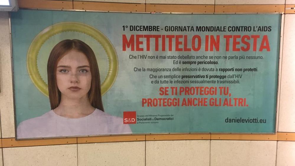 Campagna pubblicitaria AIDS