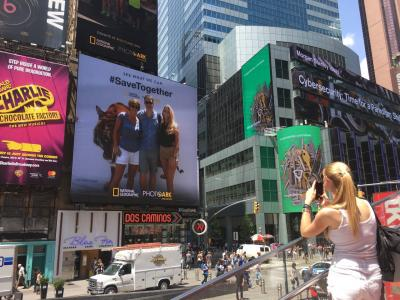 Campagna Out of Home Times Square